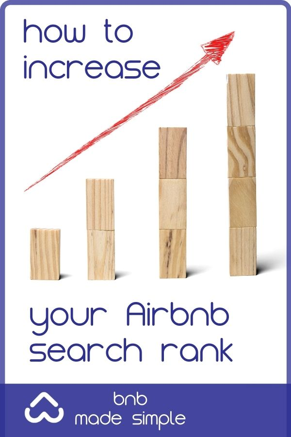 How to increase your airbnb search rank