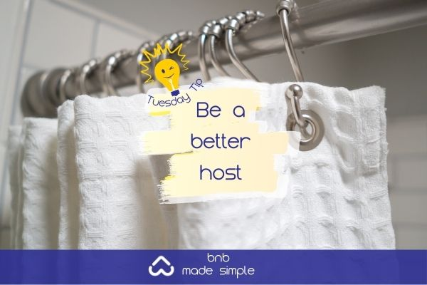 Tuesday Tip - shower hooks
