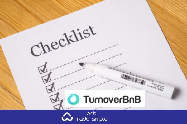 arrange consistent cleaning with TurnoverBnb